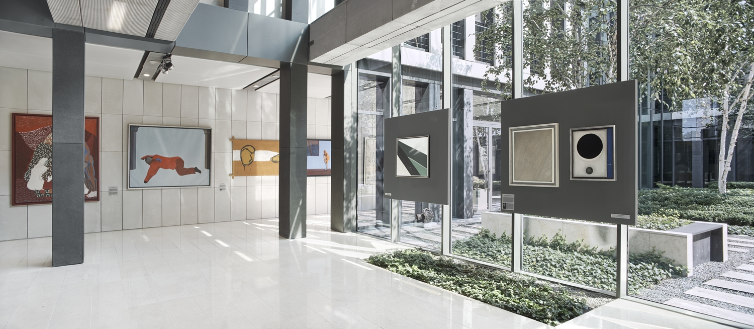 Starak Collection at Spectra Building in Warsaw. Courtesy of Starak Family Foundation.