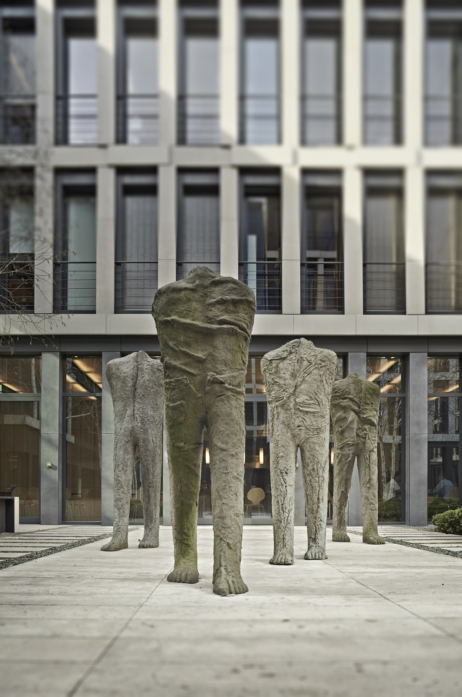 A work by Magdalena Abakanowicz from the Starak Collection. Courtesy of Starak Family Foundation.