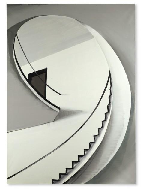 Wilhelm Sasnal, UNTITLED (FRANKFURT), 2004. Courtesy of European ArtEast Foundation.