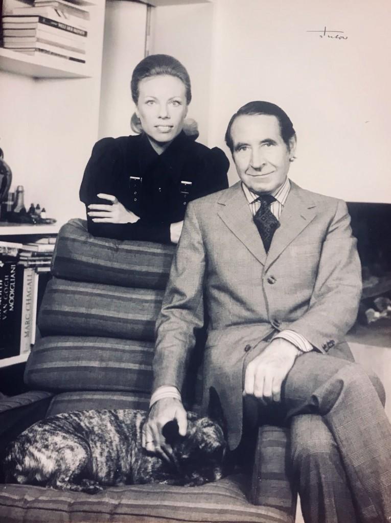 Heidi Horten and her first husband Helmut Horten. Courtesy of Heidi Horten Collection.