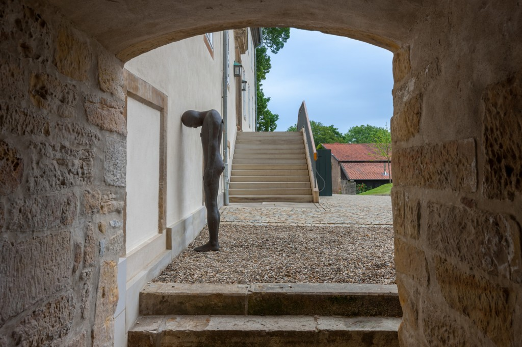 Installation View: Antony Gormley: Being, Hall Art Foundation | Schloss Derneburg Museum, Derneburg, Germany © Hall Art Foundation. Photo: Heinrich Hecht