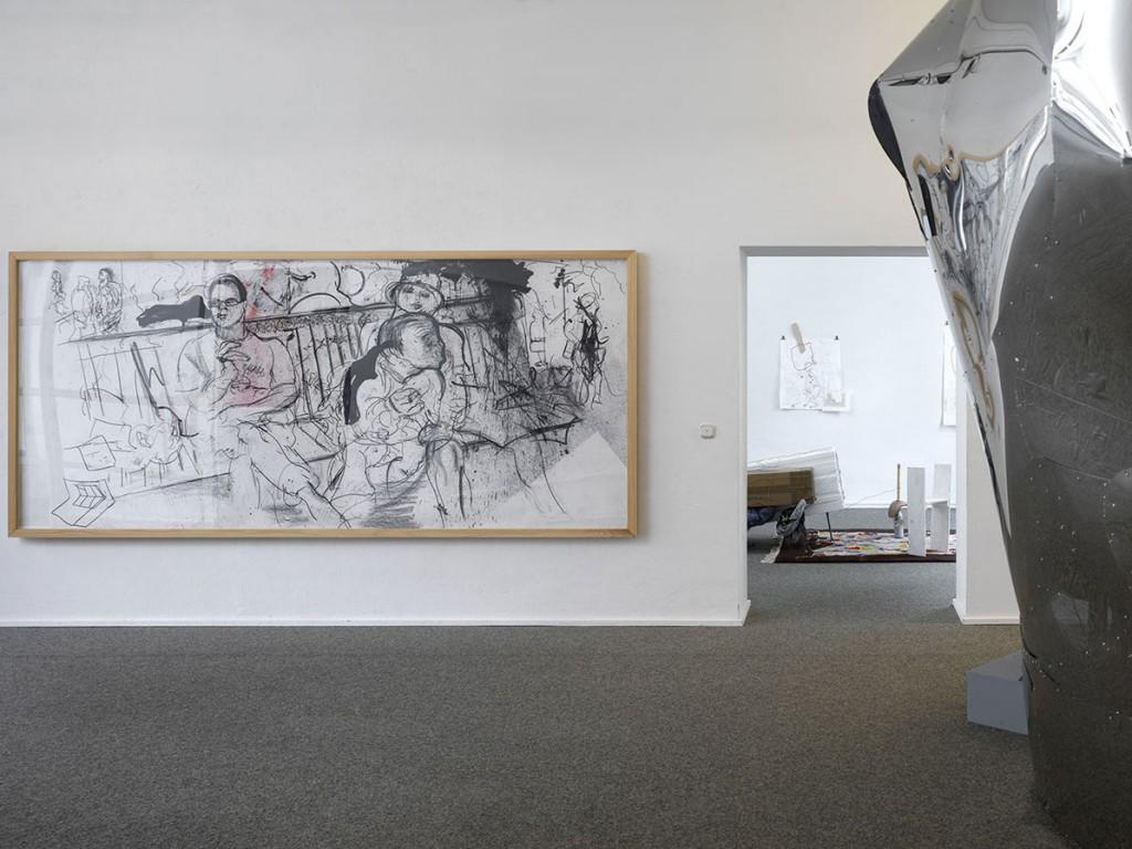 Erik van Lieshout, o.T. (untitled) Heimerstein Bench, 2003. Courtesy of Sammlung Peters-Messer.