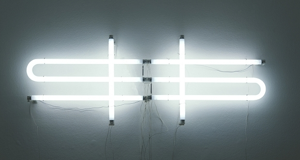 Mathieu Mercier, $, 2000. Courtesy of Haupt Collection.