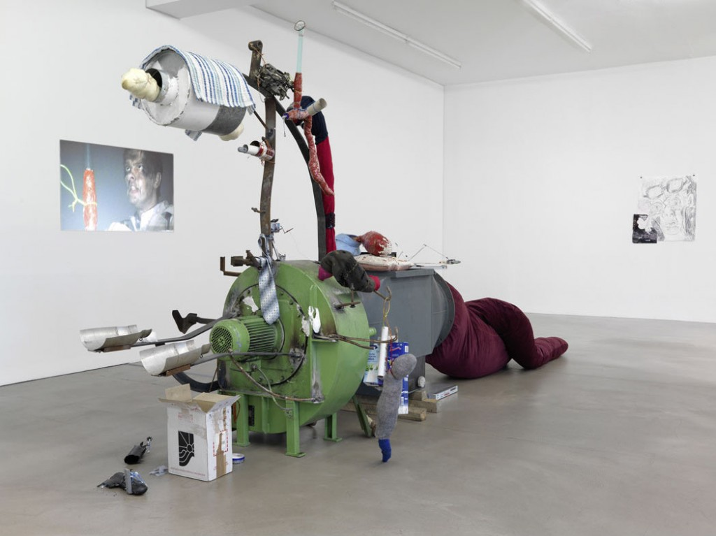 John Bock, The Depth, 2008, can be viewed online. Courtesy of Sammlung Peters-Messer.