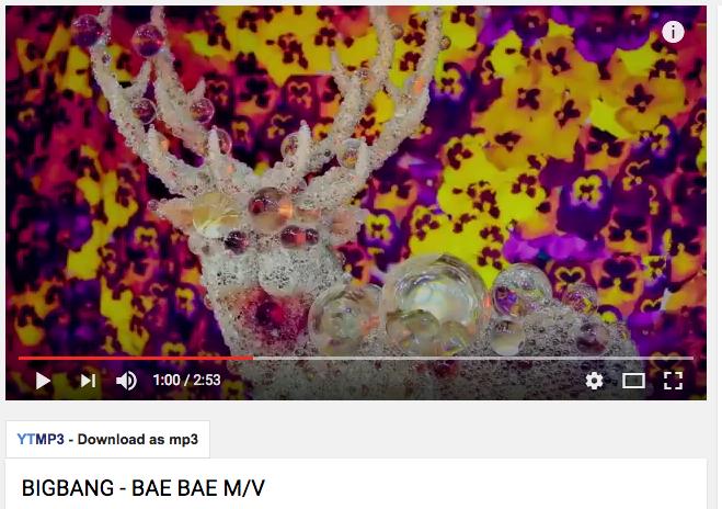 """Deer"" by Kohei Nawa appeared in Big Bang's music video."