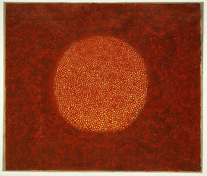 """Infinity Net"" (1965), ©Yayoi Kusama. Oil on canvas. Courtesy of the artist and Ota Fine Arts."